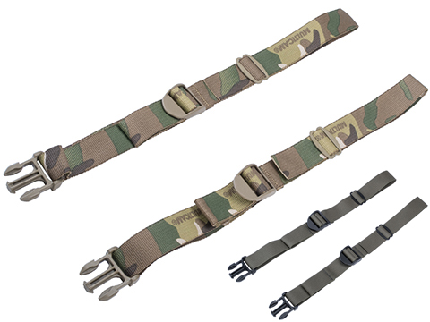 AXL Advanced Forward Adjust 1 Side Strap Set w/ Side Release Buckle (Color: Multicam)