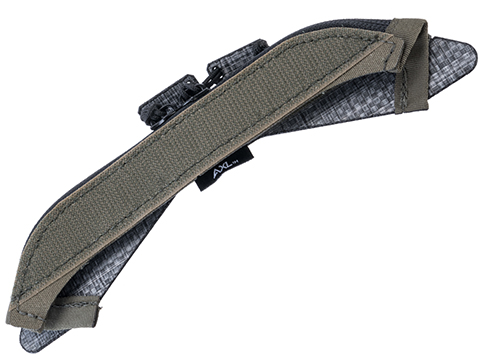 AXL Advanced Admin Zipper Plug In Upgrade for Crye Precision AVS Plate Carriers (Model: Swimmer / Ranger Green / Medium)