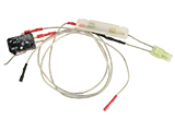 A&K M249 Wiring Set with Switch and Inline Fuse - Rear Wired