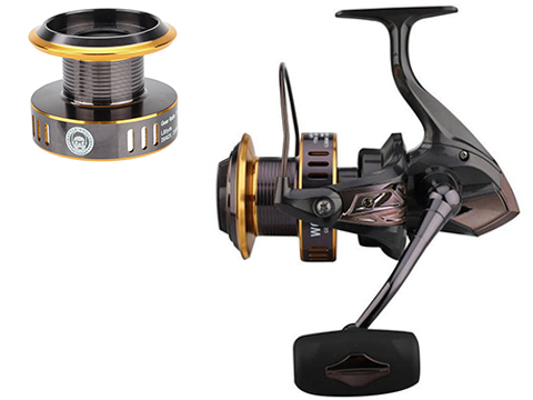 Battle Angler MKI 1000 Bait Launcher All Water Spinning Fishing Reel (Model: Complete MKI 1000 Reel)