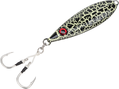 Battle Angler Phantom-Fall Jigging Lure Fishing Jig (Model: 250g Black Fissure)