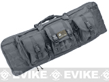 Combat Featured 36 Ultimate Dual Weapon Case Rifle Bag (Color: Urban Gray)
