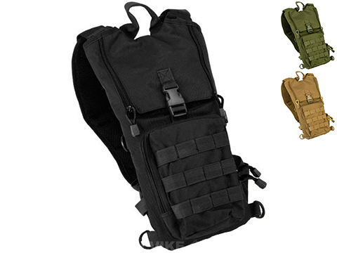 Matrix Light Weight Hydration Carrier w/ Molle (Color: Black)