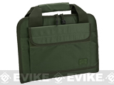 Evike.com 12x14 Padded Double Pistol Handgun Carrying Case (Color: OD Green)