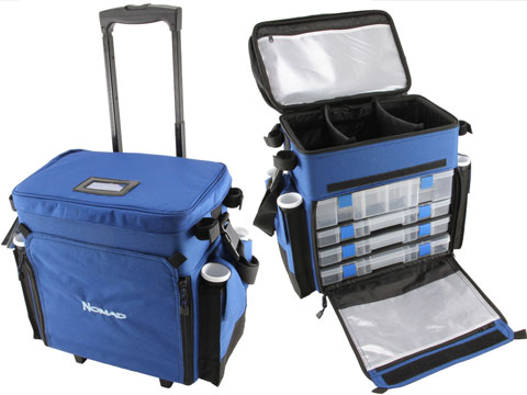Nomad / Okuma Tackle & Gear Roller System Fishing Deck Bag (Size: Full Size)