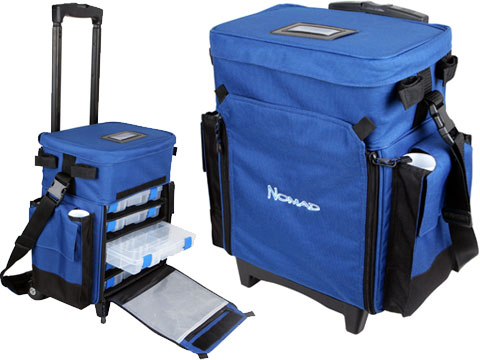 Nomad / Okuma Tackle & Gear Roller System Fishing Deck Bag