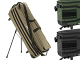 SRU Gen. 2 Rapid Deployment Case (RDC) Self-Deploying Rifle Range Caddy Bag