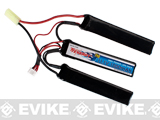 Tenergy 11.1v 1000mAh 20C Airsoft Li-po 3-Cell Nunchuck Battery