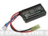 Matrix High Performance 11.1V PEQ Type Airsoft LiPo Battery (Configuration: 1100mAh / 15C / Small Tamiya)