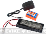 Matrix 11.1V 25/50C 4000mAh High Performance Airsoft Li-Poly Battery Pack with BMS and Charger set