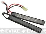 Matrix High Performance 7.4V Butterfly Type Airsoft LiPo Battery (Configuration: 1300mAh / 20C / Small Tamiya)
