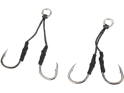 Battle Angler Long Stinger Jigging Dancing Hook Set - Pack of 2 (Size: 3/0)