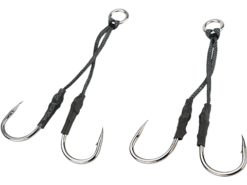 Battle Angler Long Stinger Jigging Dancing Hook Set - Pack of 2 (Size: 5/0)