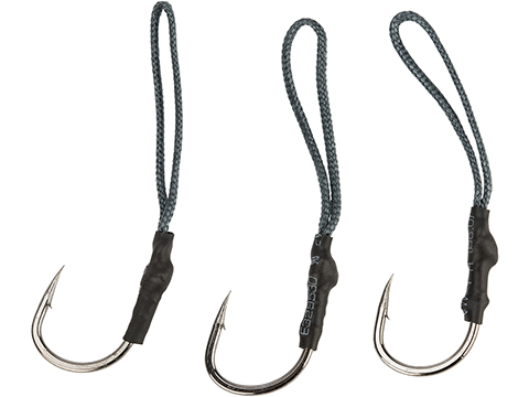 Battle Angler Jigging Fishing Assist Hook Set - Pack of 3 (Size: 5/0)