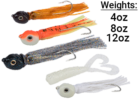 Battle Angler War Head Jigging Lure