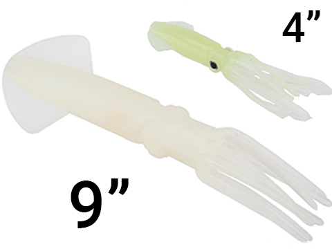 Battle Angler Tracer Soft Squid Lures