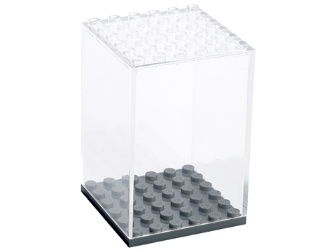 Battle Bricks Clear Figure Display Case