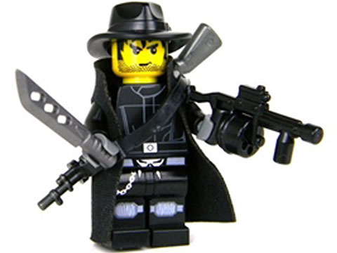 Battle Brick Customs Military Mini-Figure (Model: Apocalyptic Hunter)