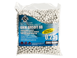 Evike.com MAX Precision Japanese Spec. 6mm Airsoft BBs (Weight: .25g / 2000 Rounds / White)