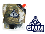 6mmProShop Pro-Series Premium Biodegradable 6mm Airsoft BBs (Weight: 0.40g / 2500 Rounds / Black)