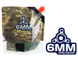 6mmProShop Pro-Series Bagged 6mm Premium High Grade Precision Airsoft BBs (Weight: .23g / 3000rd / Green)