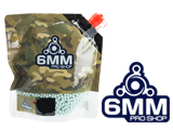 6mmProShop Pro-Series Bagged 6mm Premium High Grade Precision Airsoft BBs (Weight: .25g / 3000rd / Light Green)