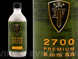 Elite Force Premium 6mm Airsoft BBs (Weight: .20g / 2700 Rounds)
