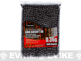 Matrix Match Grade Invisible 6mm High Performance BBs (Weight: .36g / 2000 Rounds)