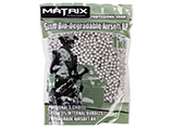 0.28g Match Grade Biodegradable 6mm Airsoft BBs by Matrix - 1KG / 3570rds