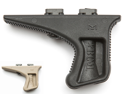 BCM GUNFIGHTER Kinesthetic Angled Grip - M-LOK Rail Grip (Color: Black)