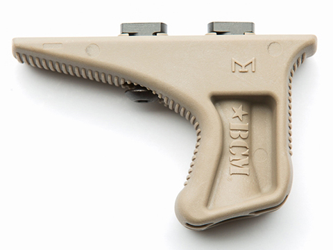 BCM GUNFIGHTER Kinesthetic Angled Grip - M-LOK Rail Grip (Color: Flat Dark Earth)