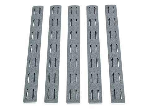 BCM Gunfighter KeyMod Rail Panel (Color: Wolf Gray / 5 Pack)