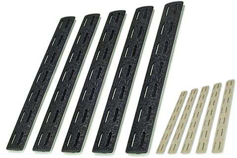 BCM Gunfighter M-LOK Rail Panel (Color: Black / 5 Pack)