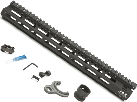 BCM GUNFIGHTER MCMR M-LOK� Compatible Modular Rail for AR15 Rifles (Length: 15)
