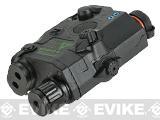 Matrix Mock Modular PEQ15 LA-5 Green Laser Pointer Device - Black