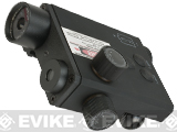 Emerson Low Profile PEQ Style Green Laser and LED Illuminator/Designator
