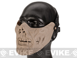 Avengers Zombie Iron Face Lower Half Mask