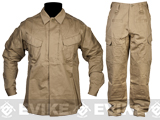 Matrix TMC CAPS Tactical Shirt & Pants Set - Coyote Brown (Size: X-Large)