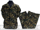 Matrix USMC Style Digital Woodland Marpat Battle Uniform Set - Small