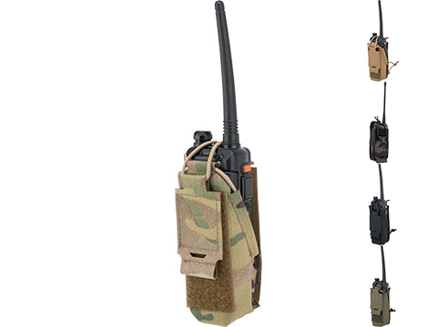 Beez Combat Systems Baofeng Radio Pouch w/ GRIDLOK