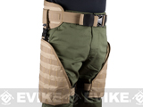 Matrix Tactical Systems MOLLE Lumbar Belt & Leg Protection System w/ Thigh Rig (Color: Tan)