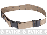 USMC Type Alice Sys. Quick Release Tactical Pistol Belt - Khaki