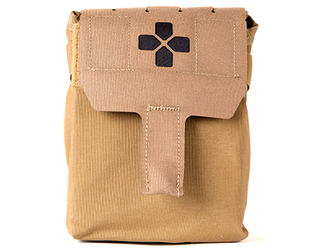 Blue Force Gear Filled Trauma Kit NOW! (Color: Coyote Brown)