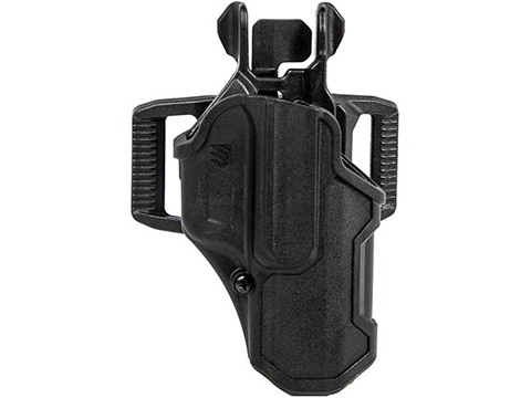 Blackhawk T-Series Level 2 Compact Light Bearing Pistol Holster (Model: GLOCK 17- TLR 8 / Right Hand)