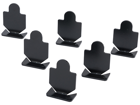 Big Bang Steel Target for Airguns (Model: Small Silhouette Popper 6-Pack)