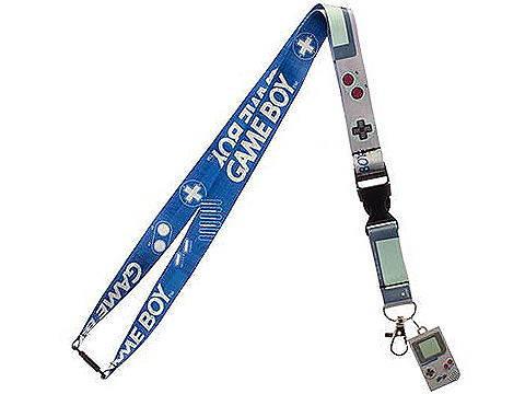Nintendo Gameboy Officially Licensed Lanyard with Medallion and Badge Holder