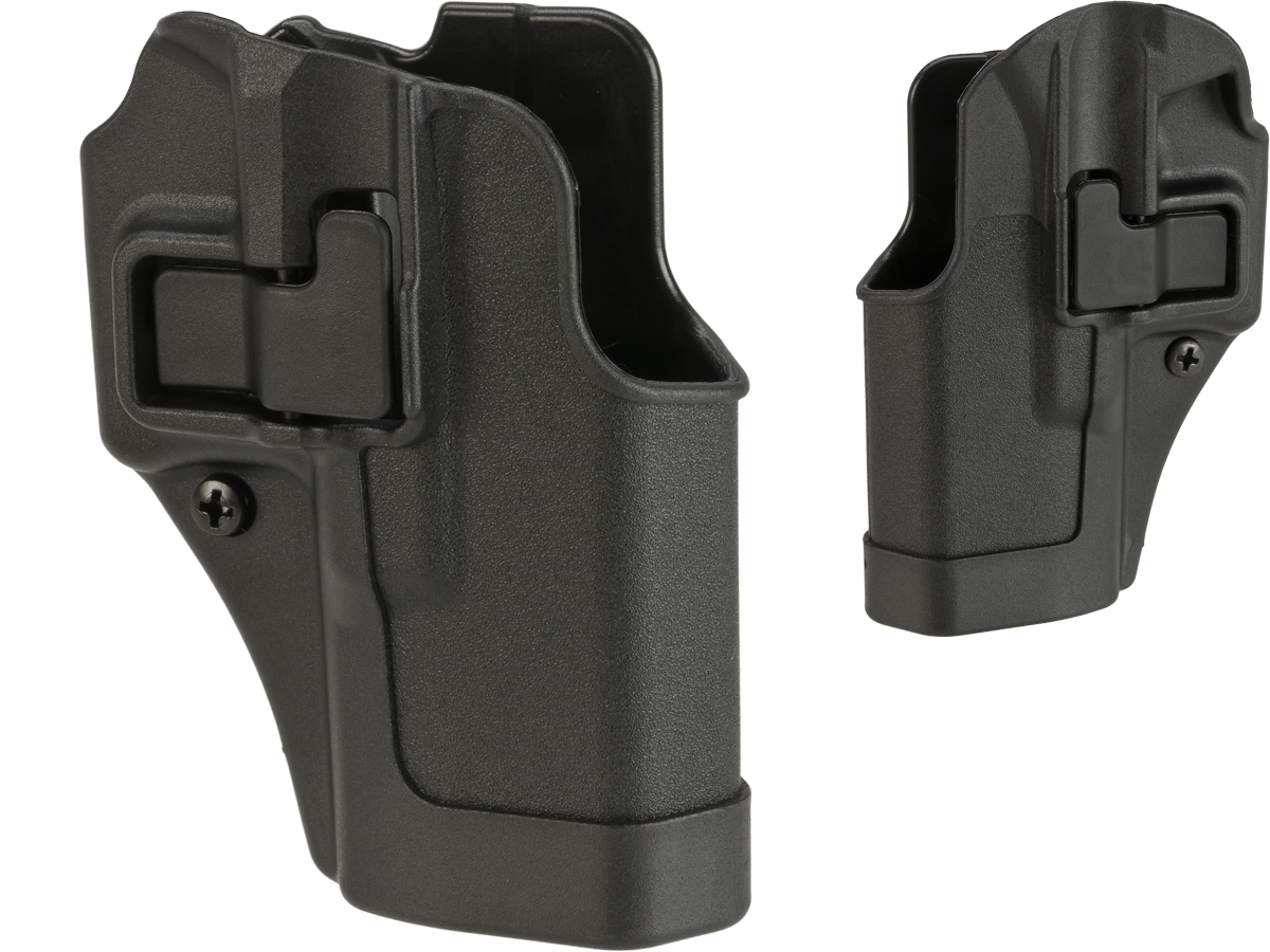 Blackhawk! Serpa CQC Concealment Holster (Model: GLOCK 19 / Black / Right Hand)