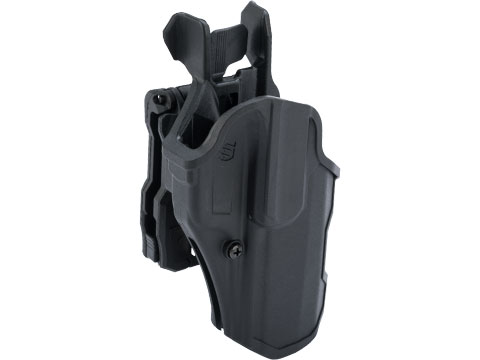 BLACKHAWK! T-Series Level 2 Compact Pistol Holster (Model: SIG P320 / Right Hand)