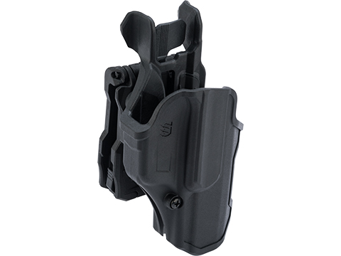 BLACKHAWK! T-Series Level 2 Compact Pistol Holster (Model: GLOCK 17 / Right Hand)