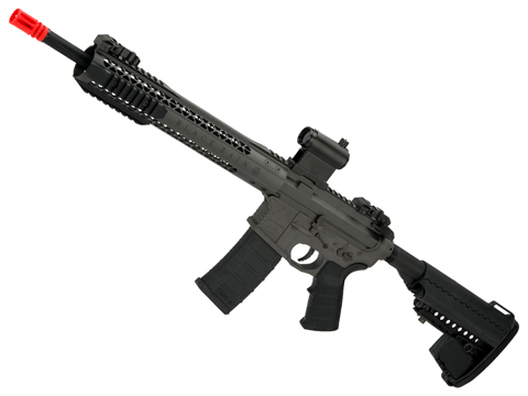 Black Rain Ordnance BRO M4 SPEC15 Airsoft AEG by King Arms (Color: Recon / Gray)